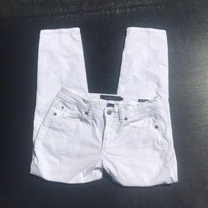 Women's White Calvin Klein Jeans